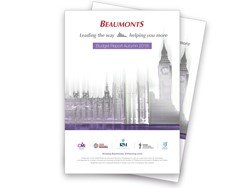 Autumn Budget Report | Beaumonts Accountants And Business Growth Partners | West Yorkshire